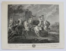 "Kupferstich - Christian von Mechel (1737 Basel - 1817 Berlin) ""Dédiée A La Majesté Mariae"