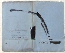"""Collage - Walter Zacharias (Regensburg 1919 - 2000) """"Ohne Titel"""", r.u. signiert und datiert 28.10."""