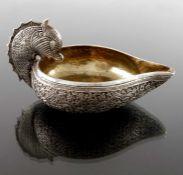A Persian white metal jug, probably Kutch