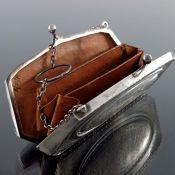 A George V silver purse, LF, Birmingham 1918