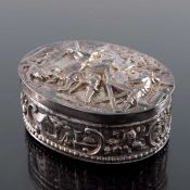 A Dutch silver box, import marks Chester 1905
