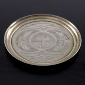 An Imperial Russian silver coaster, Moscow 1891