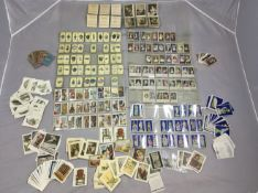 Wills Celebrated Pictures, a series of 25, Churchmans Treasure Trove, series of 50, Players Bygone