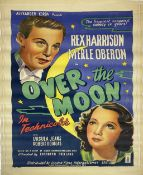 A vintage film poster, Alexander Korda presents the happiest, snappiest comedy in years: Rex