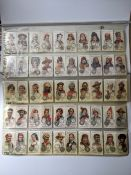 Wills Cigarette Cards, Time and Money in Different Countries, complete 50 cards