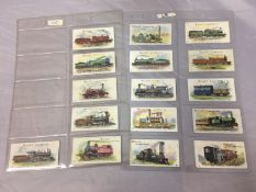 Wills 1901 Locomotives and Rolling Stock (no clause), 16 cards