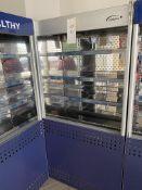 Williams Slimline Gem Multideck Food Merchandising Chiller Unit with Night Blind and IWC720/HC