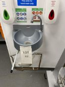 Pasix Knee Operated Hand Wash Basin (Will Require Disconnecting)