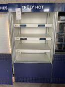 Williams Slimline Gem Multideck Heated Food Merchandising Unit with Night Blind and Electronic