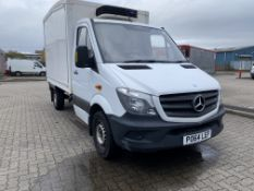 Mercedes Sprinter 313 CDI Insulated Refrigerated Box Van