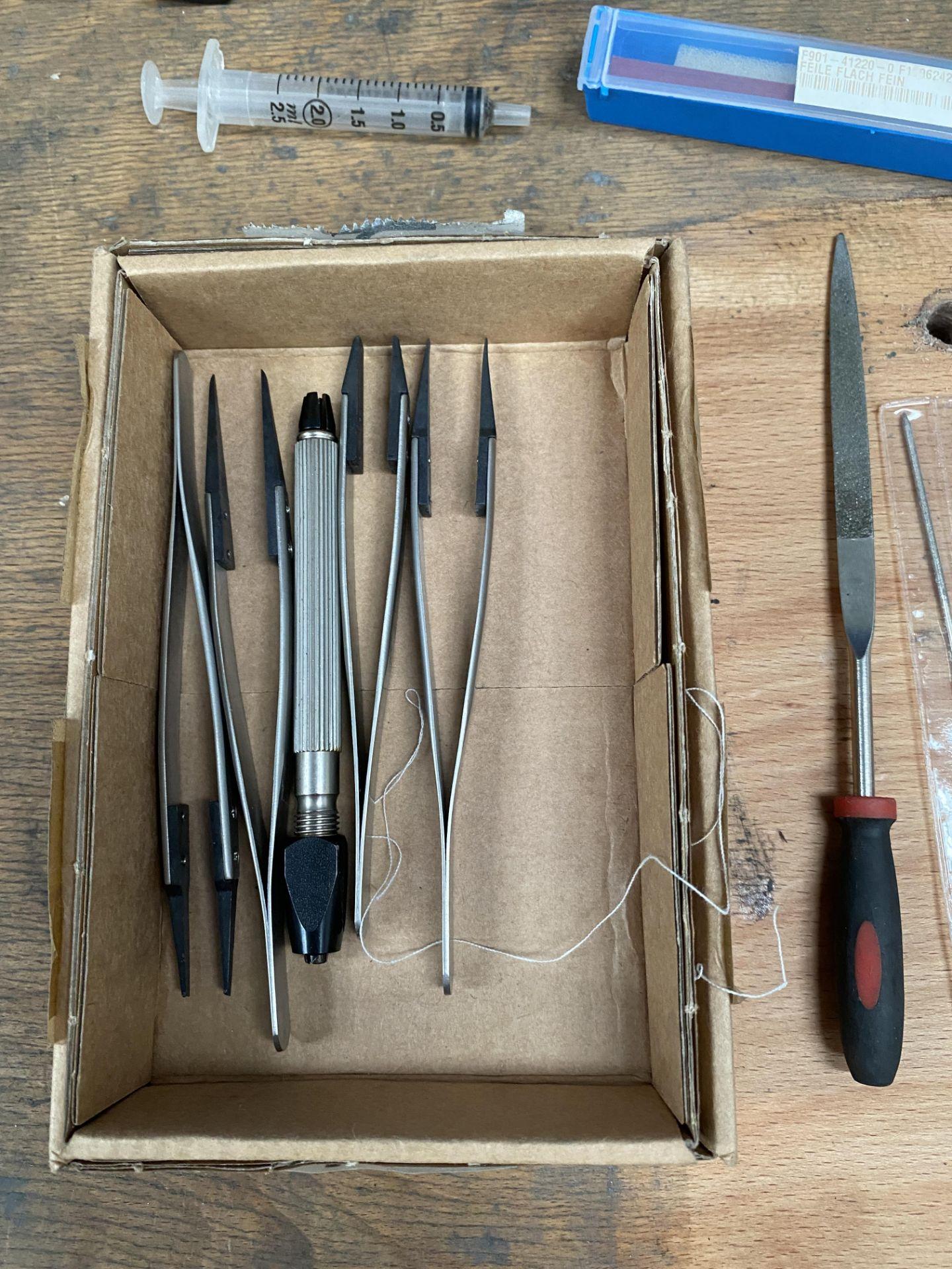 Assorted Vetus Precision Tools & Files