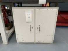 2 Door Metal Cabinet With Key