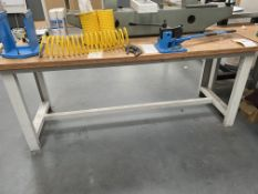 Workbench Size 2m X 0.76m X 0.84m (Does Not Include Contents)