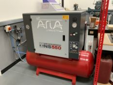 SWP Aria Model NS 550, LN55/270 Silent Piston Receiver Mounted Compressor, Serial No. 97254197/