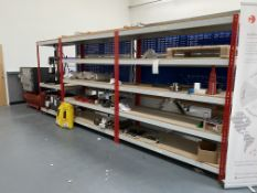 3: Bays Boltless Shelving (Does Not include Contents)