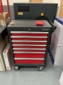 Kennedy Professional Seven Drawer Mobile Tool Cabinet with Key