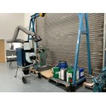 Watts Lifting Equipment, A Frame Lifting Gantry, SWL 2 Tons with chain hoist