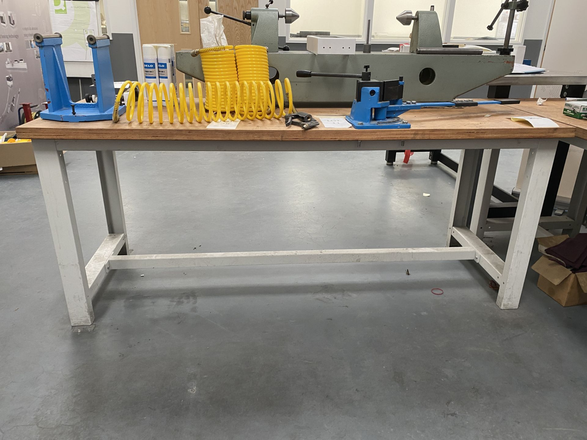 Workbench Size 2m X 0.76m X 0.84m (Does Not Include Contents) - Image 2 of 4