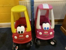 2x Little Tikes Bus Carts (with wheels)