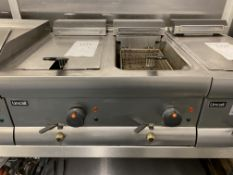 LinCat Twin Basket Deep Fat Fryer