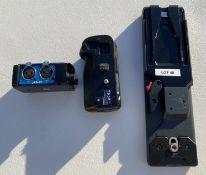 BeachTek DXA-2T Audi Adaptor, Panasonic Model DMW-BGGH3 Battery Grip and Sony VCT-14, Quick