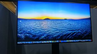 """Panasonic TH 75EX1Q 75"""" 4K Professional Screen LCD VERY LOW USAGE Serial No XE9540548 DOM October 20"""