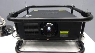 Panasonic 9K Laser Projector PT- RZ970 WUXGA DLP Solid Shine Serial No DA7440073 DOM 08/2017 HDMI