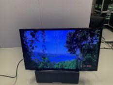 "Samsung 40"" LH40 HDBPL GD/EU HDMI Inputs & VGA c/w Remote, Wall Plates, Desk stand and Flight Case"