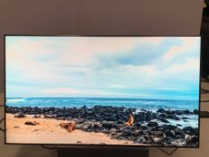 "Panasonic 55"" Full HD LCD Display TH-55LF8W Plasma Screen LOW USAGE Serial No XE6134449 DOM 2016 2"