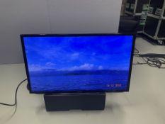 "Samsung 40"" LH40 HDBPL GD/EU Serial No C900076P 2 HDMI Inputs & VGA c/w Remote, Wall Plates, Desk"