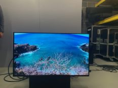 "Panasonic 49"" Full HD LCD Display TH-495F2E Plasma Screen Serial No XE9152960 DOM 03/2019 2 HDMI"