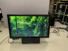 "Panasonic 50 "" TH-50PF50E 3D Serial No FC-2540069 1 HDMI Inputs, DVI-D Inputs, & VGA c/w Remote,"