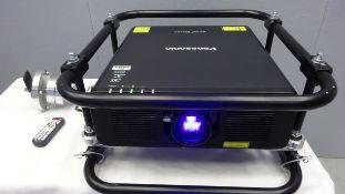 Panasonic 12K Laser Projector PT-RZ120 WUXGA DLP Solid Shine Serial No DA8550335 HDMI Input, SDI