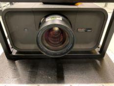 Christie LHD 700 Projector Serial No 34800393 DOM 2012 HDMI Input, DVI Input, VGA Input & Lamp