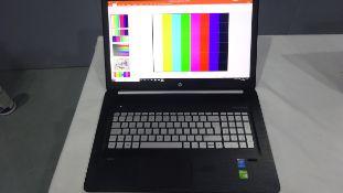 "HP ENVY i7 with Microsoft Office Professional Plus 2016 17"" Laptop Intel Ram 12.0 c/w Flight Case,"
