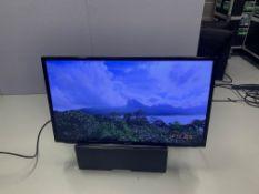 """Samsung 40"""" LH40 HDBPL GD/EU HDMI Inputs & VGA c/w Remote, Wall Plates, Desk stand"""