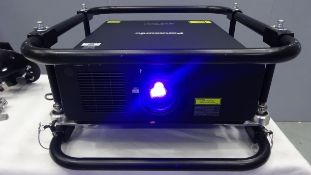 Panasonic 9K Laser Projector PT- RZ970 WUXGA DLP Solid Shine Low Usage Projector Running Time ONLY