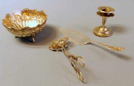 Konvolut an SilberteilenSilber 800 und Silber plated, einzeln mit Feingehalt punziert. Das