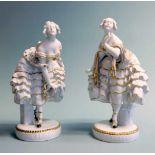 Metzler & Ortloff,Tänzerinnenpaar