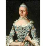 Portrait einer feinen Dame
