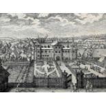 Fünf Stiche von StadtansichtenKupferstich/Papier. Seltene Folge mit schönen Ansichte