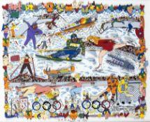 James Rizzi1950 New YorkUS-amerikanischer Künstler und Maler der Pop-Art; Ausstellungen u.
