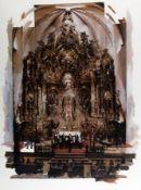 Richard Hamilton1922 London - 2011 ebendaBedeutender Künstler der Popart.Altar Piece<br