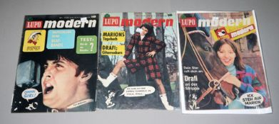 Lupo Modern, Kauka, 4 Hefte, Mitte 1960er Jahre, Z 1-2