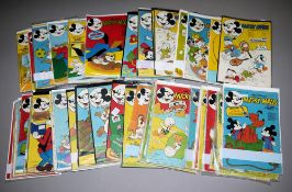 Mickey Maus, Ehapa, 102 Hefte, Z 1-2, 1973, 1975 u. 1977