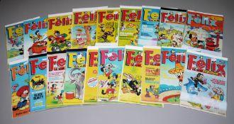 Felix, Bastei Verlag, 27 Hefte zwischen Ausgabe Nr. 800-1100, Z 1-2