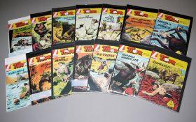 Tibor - Held des Dschungels, Lehning Vlg., 28 Hefte, Z 1-2