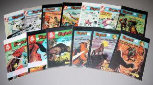 Sigurd, Lehning Vlg., 26 Hefte, Großbände, ab 1974, Z 1-2<b