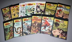Tibor - Held des Dschungels, Lehning Vlg., 25 Hefte, Z 1-2