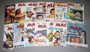 MAD Deutsche Ausgabe, Williams Vlg., 22 Hefte, 1970er/80er Jahre, Z 1-2